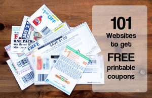 Coupon Sites Get Free Samples Without Conditions